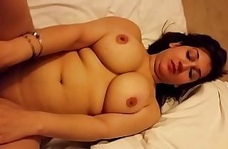 Super Hot n Sexy Wife Boob Press Pussy Show
