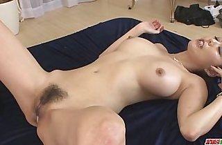 Creampied In Both Holes After Akari Asagiris Threesome