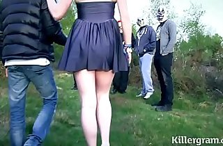 Vip  girlfriend  ,  outdoor  ,  public place   sex videos