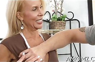 Throbbing cock rams mature bawdy cleft