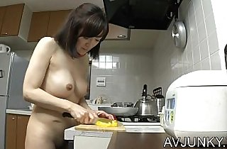 Naked pet wife