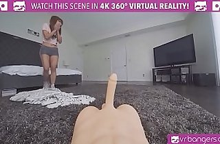 Flawless Asian Virgin Rides a sex Doll for the first time Orgasm