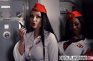 DigitalPlayground Fly Girls Final Payload Scene Aletta Ocean, Nicolette Shea, Axel Aces, Ryan Ryder