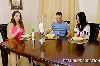 Taboo Passions Sister fucks brother while mom watches Addie Juniper Madisin