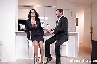 Extremly hot milf gets fucked anally destroyed after a business meeting